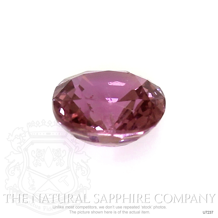 Natural Untreated Purplish Pink Sapphire U7237 Image 2