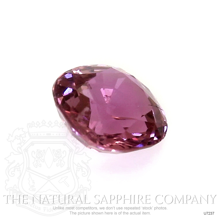 Natural Untreated Purplish Pink Sapphire U7237 Image 3