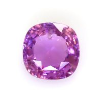 0.96ct Madagascar Cushion Purplish Pink Sapphire - U7238