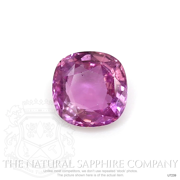 Natural Untreated Purplish Pink Sapphire U7239 Image