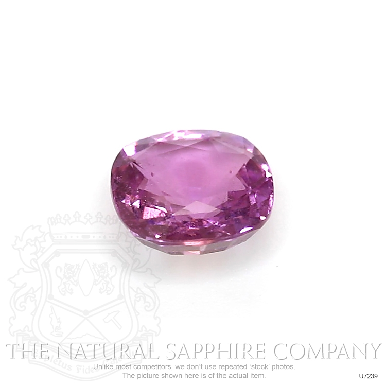 Natural Untreated Purplish Pink Sapphire U7239 Image 2