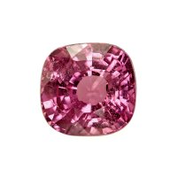 1.68ct Madagascar Cushion Pinkish Red / Reddish Pink Sapphire - U7241