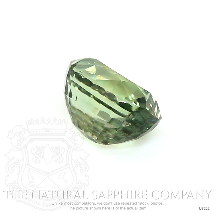 Natural Untreated Greenish Yellow Sapphire U7252 Image 3