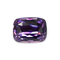 3.95ct Madagascar Cushion Purple Sapphire - U7263