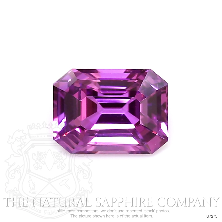 Natural Untreated Purple Sapphire U7275 Image