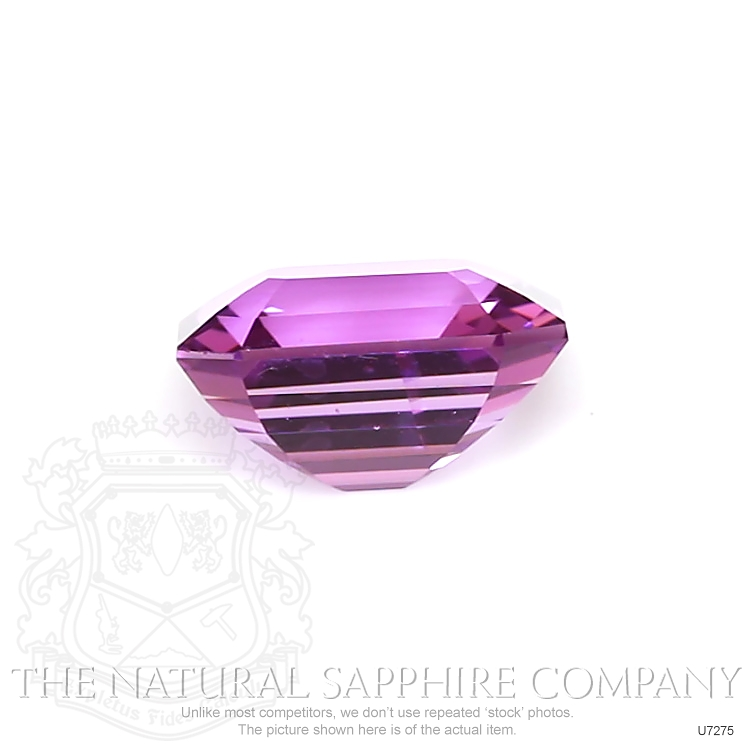 Natural Untreated Purple Sapphire U7275 Image 2