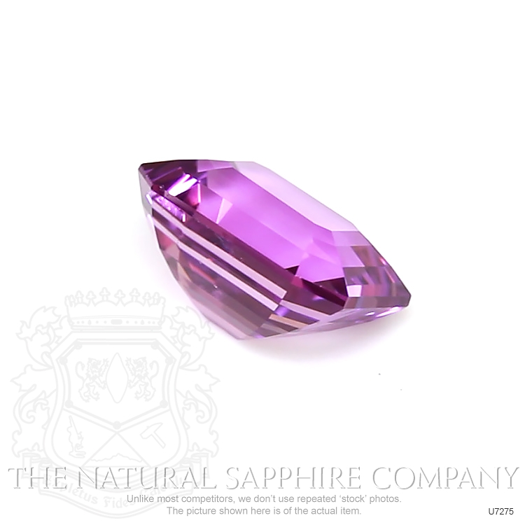 Natural Untreated Purple Sapphire U7275 Image 3