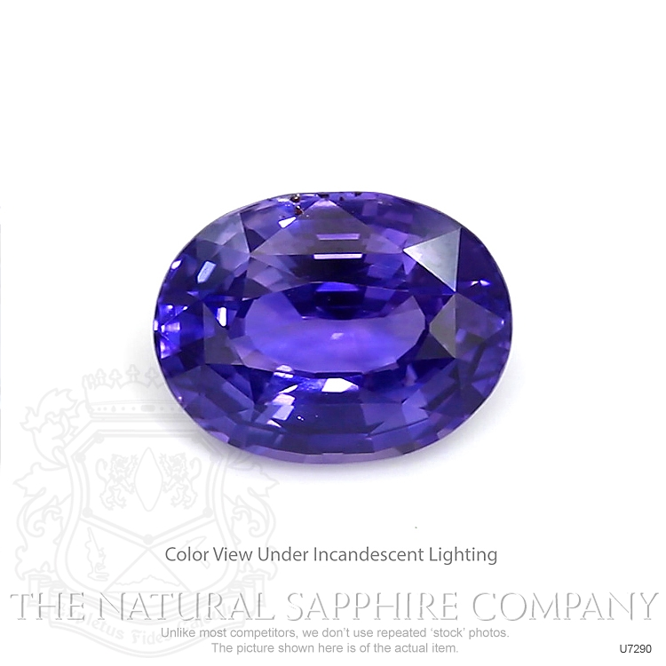 Natural Untreated Color-Change Sapphire U7290 Image 2