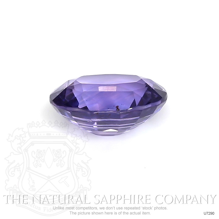 Natural Untreated Color-Change Sapphire U7290 Image 3