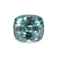 2.25ct Montana Cushion Greenish Blue Sapphire - U7354