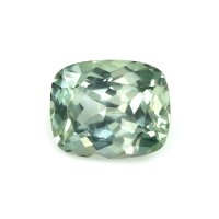 2.31ct Montana Cushion Yellowish Green Sapphire - U7360