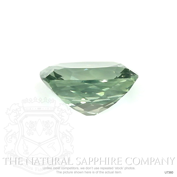 Natural Untreated Blue Green Sapphire U7360 Image 2