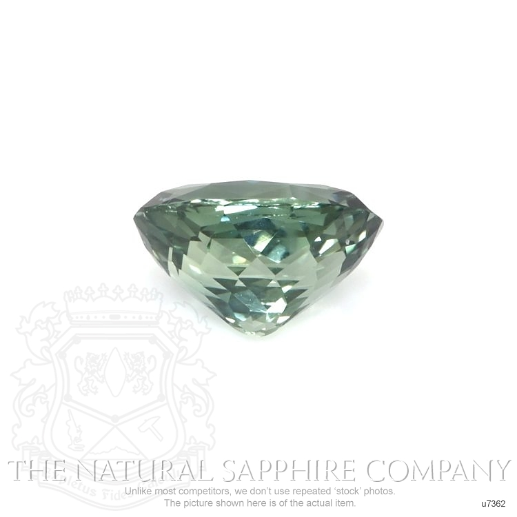 Natural Untreated Greenish Blue Sapphire U7362 Image 2