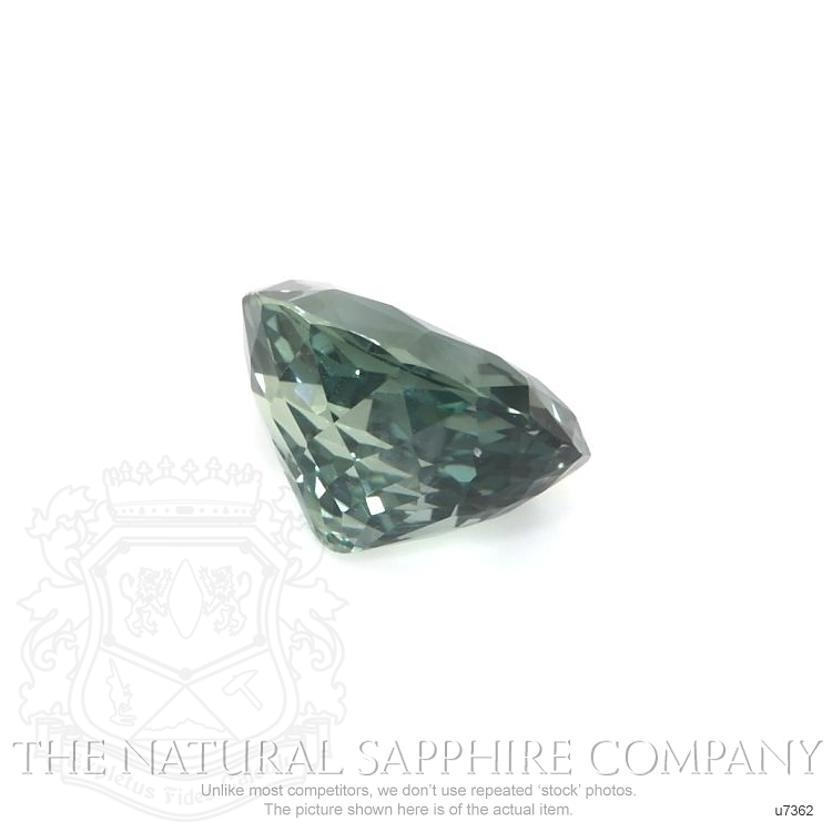 Natural Untreated Greenish Blue Sapphire U7362 Image 3
