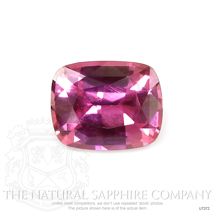 Natural Untreated Purplish Pink Sapphire U7372 Image