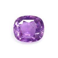 1.23ct Madagascar Cushion Purple Sapphire - U7381