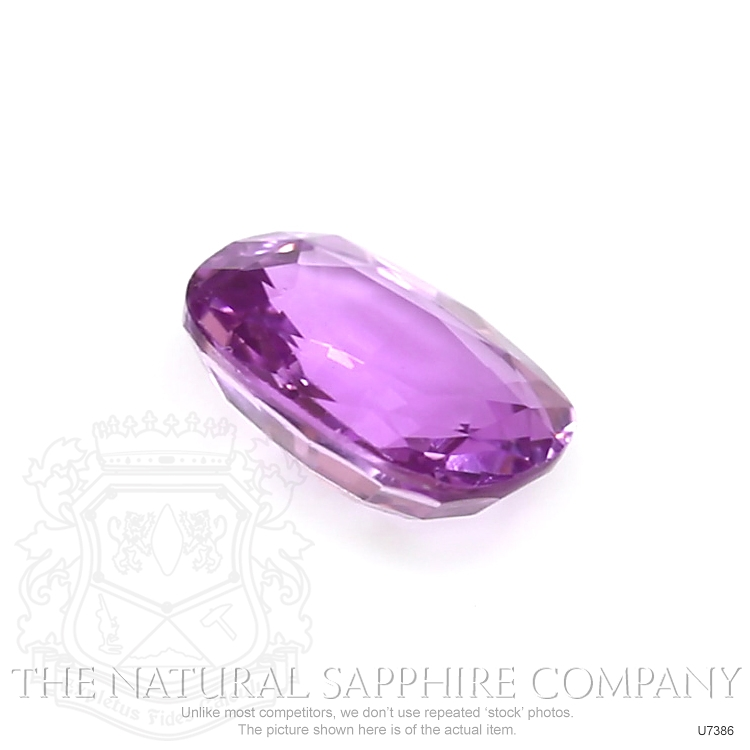 Natural Untreated Purple Sapphire U7386 Image 3