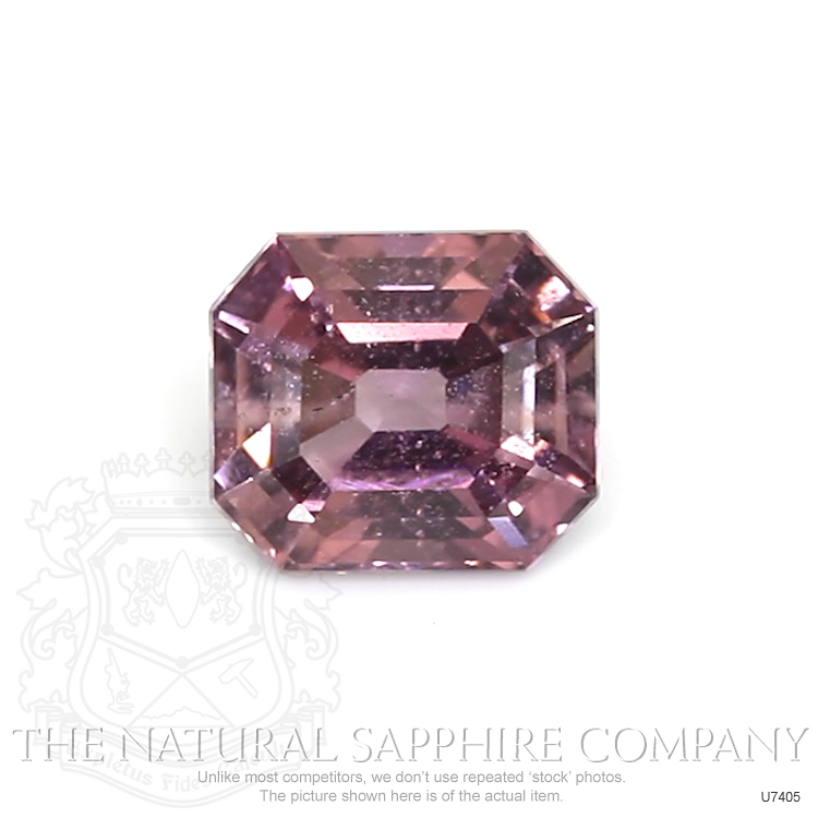 Natural Untreated Purplish Pink Sapphire U7405 Image
