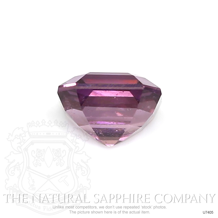 Natural Untreated Purplish Pink Sapphire U7405 Image 2