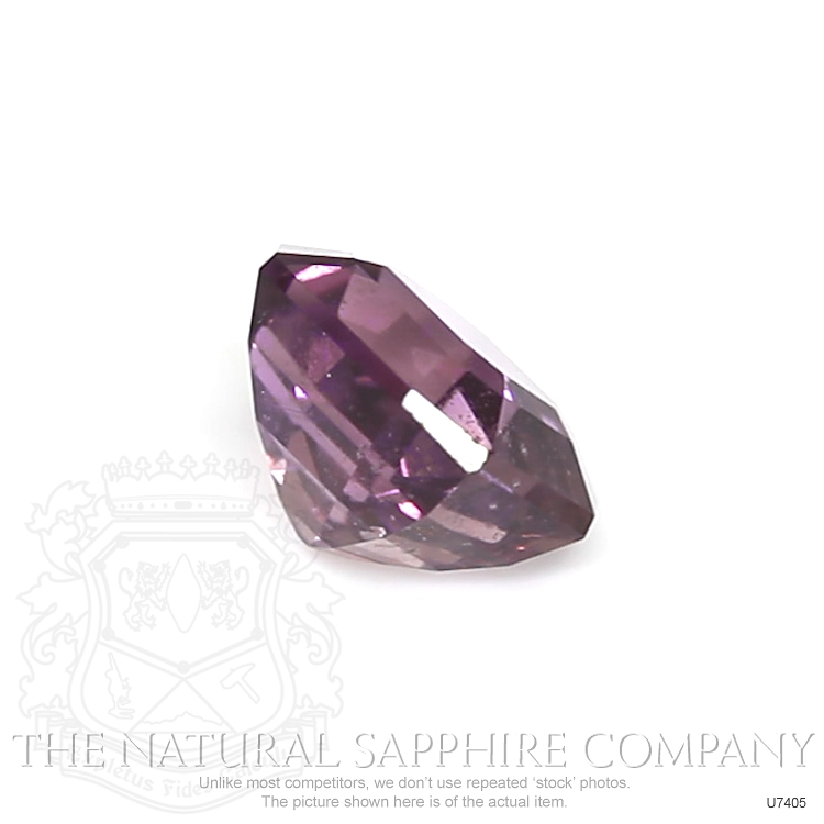 Natural Untreated Purplish Pink Sapphire U7405 Image 3
