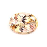 4.33ct Ceylon Oval Yellowish Orange Sapphire - U7426