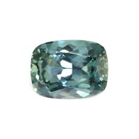 1.97ct Montana Cushion Greenish Blue Sapphire - U7459