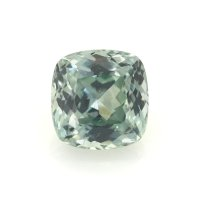 1.01ct Montana Cushion Yellowish Green Sapphire - U7657