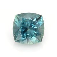 4.58ct Montana Cushion Greenish Blue Sapphire - U8460