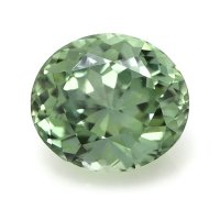 2.05ct Montana Oval Greenish Yellow Sapphire - U8480