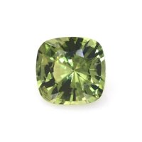 1.23ct Madagascar Cushion Greenish Yellow Sapphire - U8539