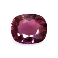 1.67ct Madagascar Cushion Pinkish Red / Reddish Pink Sapphire - U8549