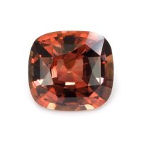 7.84ct Ceylon Cushion Orangish Red Sapphire - U8604