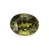 2.49ct Ceylon Oval Greenish Yellow Sapphire - U8628