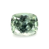 1.73ct Montana Cushion Greenish Yellow Sapphire - U8640