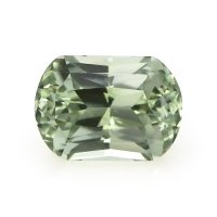 0.90ct Montana Cushion Yellowish Green Sapphire - U8773
