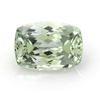 0.95ct Montana Cushion Yellowish Green Sapphire - U8788