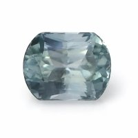 1.38ct Montana Cushion Greenish Blue Sapphire - U8817