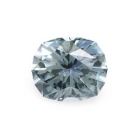 2.93ct Montana Cushion Greenish Blue Sapphire - U8948