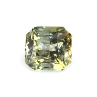 5.61ct Ceylon Radiant Greenish Yellow Sapphire - U9143
