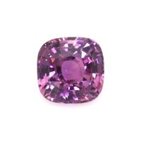 2.58ct Ceylon Cushion Pinkish Purple Sapphire - U9155