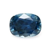 0.73ct Montana Cushion Greenish Blue Sapphire - U9303