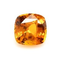 2.54ct Ceylon Cushion Orange Sapphire - U9356