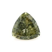 1.20ct Ceylon Trillion Greenish Brown Sapphire - U9478