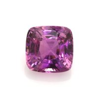 1.83ct Ceylon Cushion Purplish Pink Sapphire - U9625
