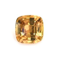 1.73ct Ceylon Cushion Yellowish Orange Sapphire - U9729