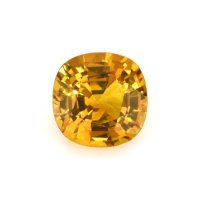 1.62ct Ceylon Cushion Orange Sapphire - U9788