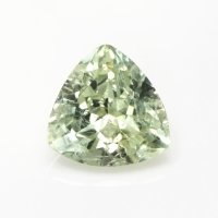 0.69ct Montana Trillion Yellowish Green Sapphire - U9999