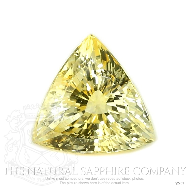 Natural Untreated Yellow Sapphire Y2751 Image