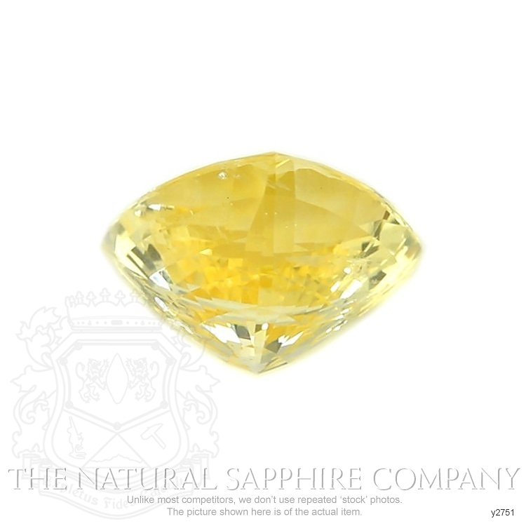 Natural Untreated Yellow Sapphire Y2751 Image 2
