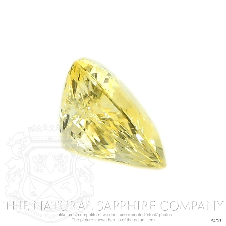 Natural Untreated Yellow Sapphire Y2751 Image 3